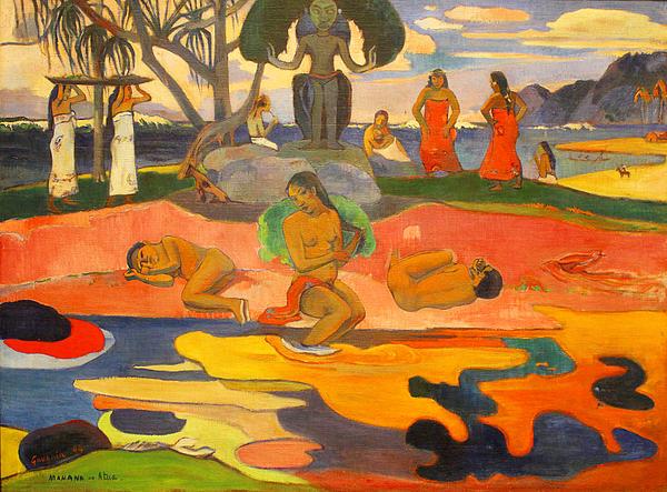 mahana-no-atua-aka-day-of-the-gods-paul-gauguin